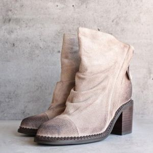 Sbicca Vintage Collection Millie Suede Ankle Boots